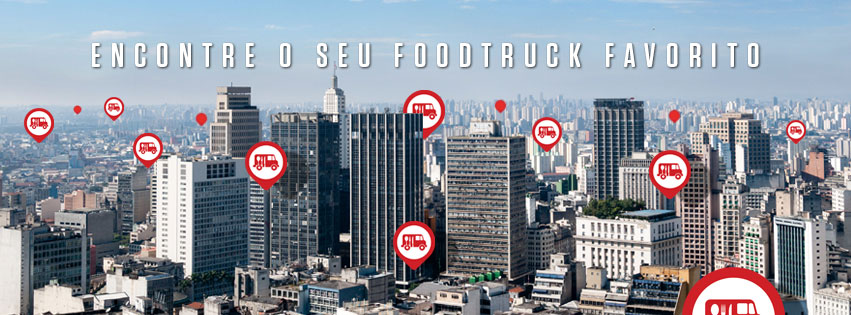 FoodTrack: aplicativo que ajuda encontrar o foodtruck mais perto de você! (Foto: Reprodução/Facebook)