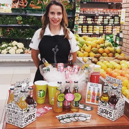Mora no Rio e quer ganhar um copo exclusivo de Gloops? Vai lá hoje no Supermercado Zona Sul da rua Pacheco Leão no Jardim Botânico para ganhar o seu!