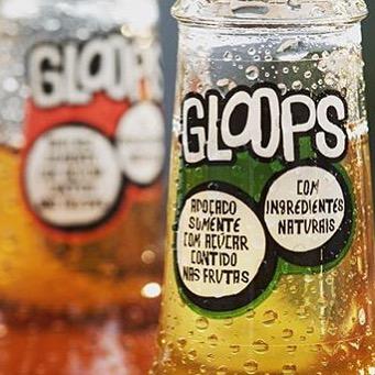 Dá para imaginar como seria um refri saudável?? Gloops não tem adição de açúcar, nem de conservante, corante, ácido fosfórico, nem de cafeína. Por outro lado, tem fruta, muita fruta!! Mais de 80% de suco natural e o restante é água com gás. #gloops #bebidanatural #refrisaudavel