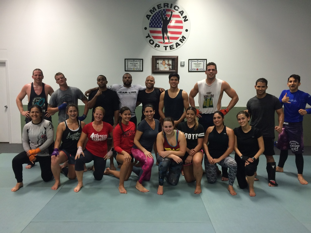 Muay Thai Kickboxing at American Top Team West Palm Beach