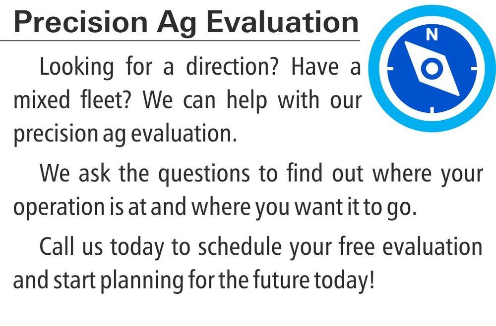 Precision Ag Evaluation
