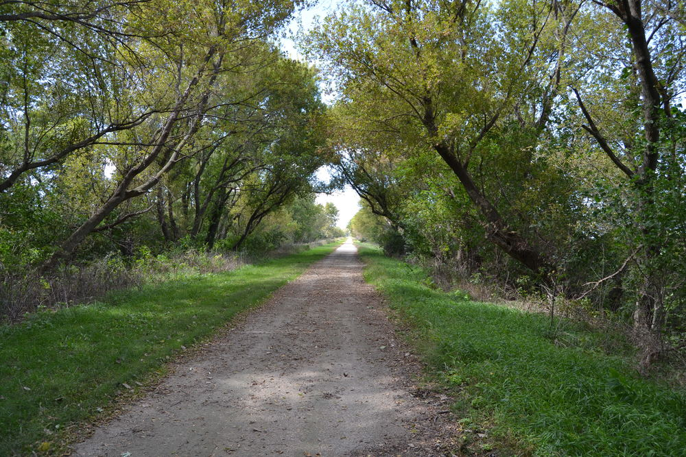 Surrounded By Beauty on the Heart of Iowa Nature Trail