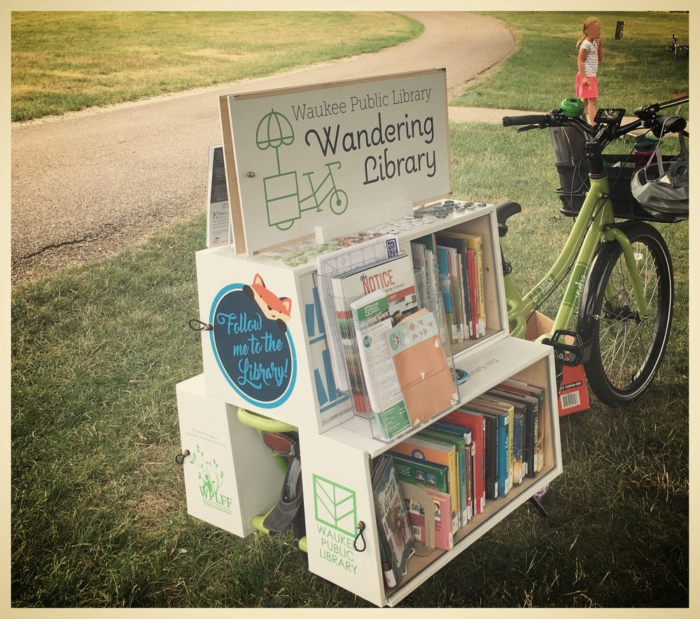 Iowa-Bike-Rides-Wandering-Library