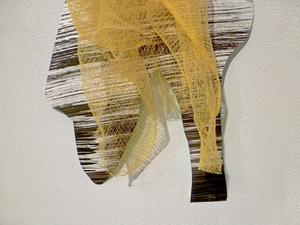 Untitled ( Tack Cloth ) detail, 2013