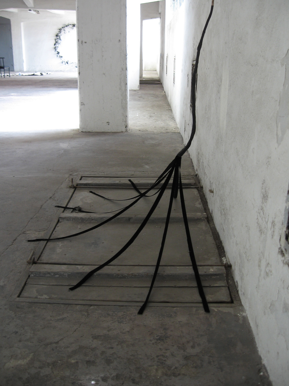 Untitled (tethered arrow) detail, 2010