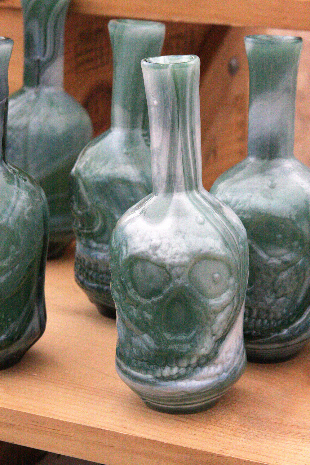 I actually thought these 'pirate inspired' vases or whatever were pretty cool!