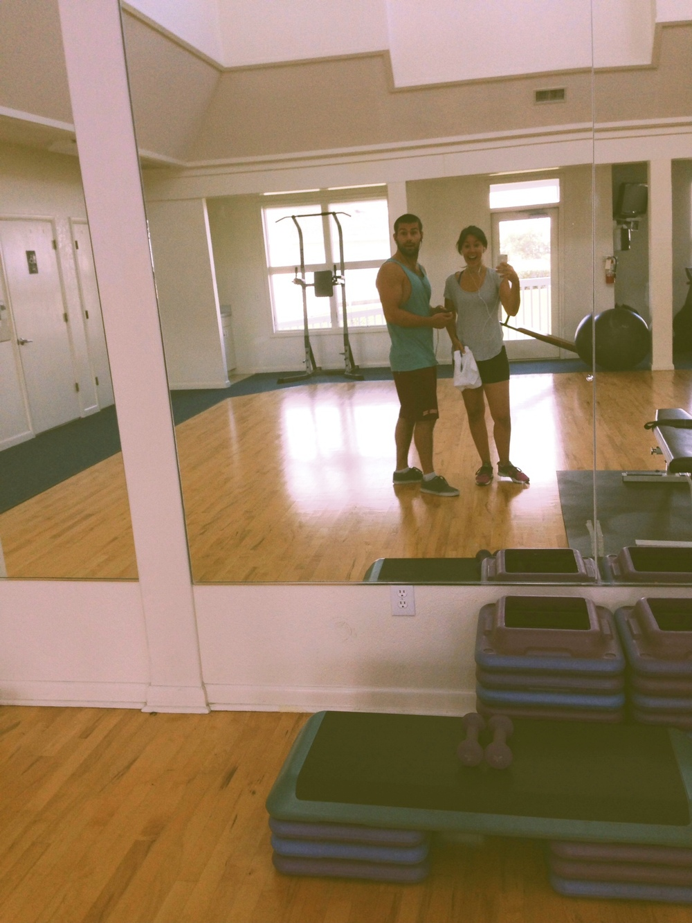 We loved working out everyday that we were there -the gym was in walking distance!