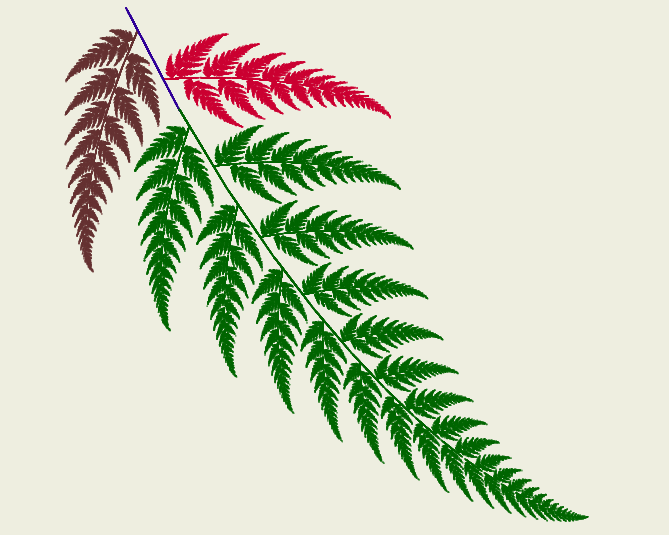 Fractal Fern - Example 2
