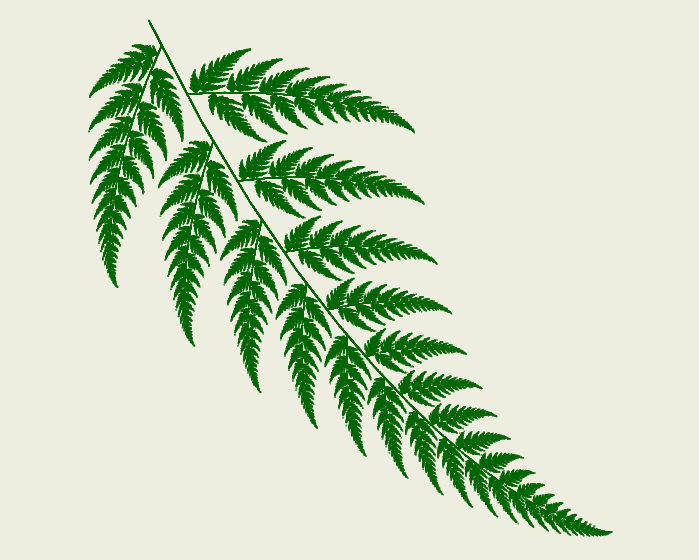 Fractal Fern - Example 3