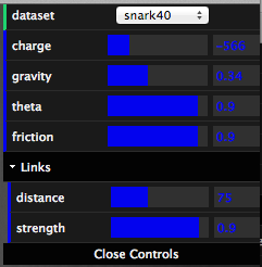 Controls for examples
