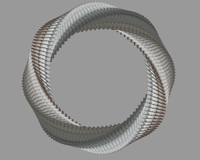 Spiral Circle - WebGL Demo