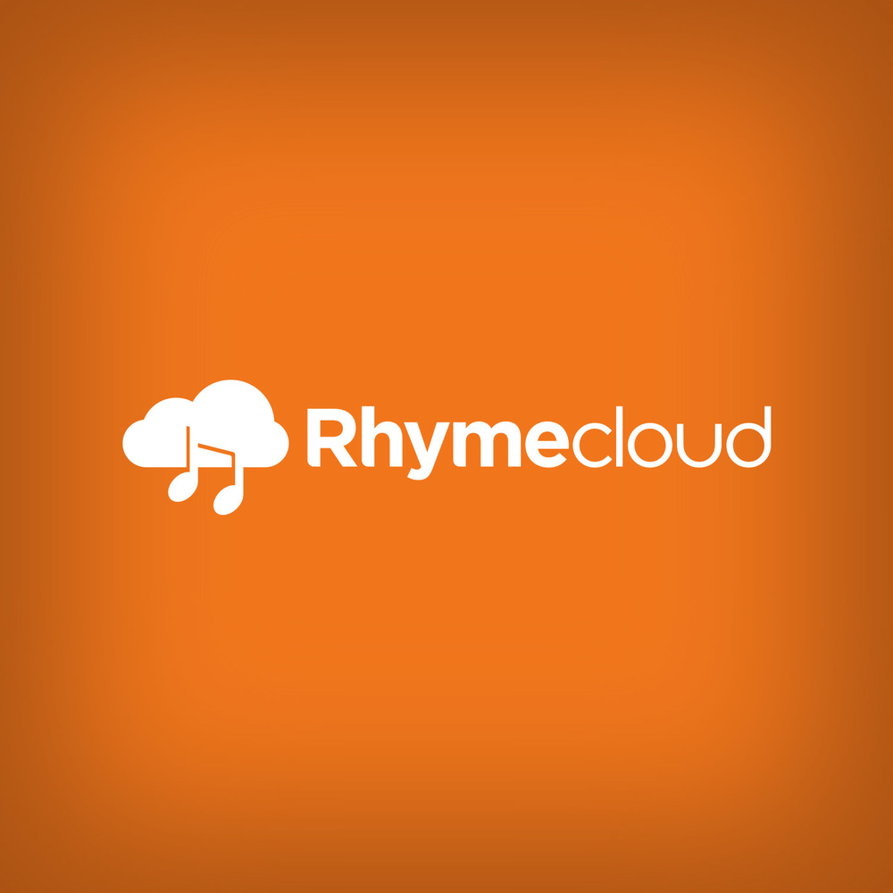 Rhymecloud - concept music logo