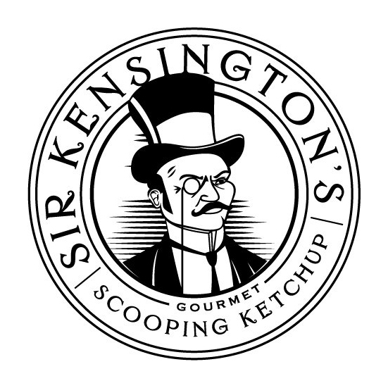 Sir Kensington Moustache Logo
