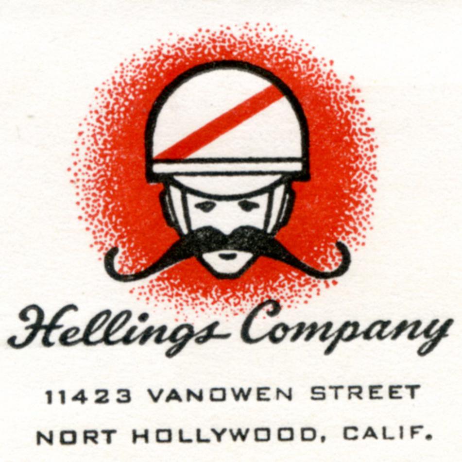 hellings company moustache logo