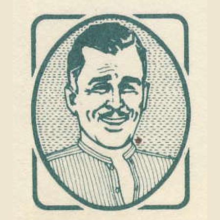 godfather moustache logo