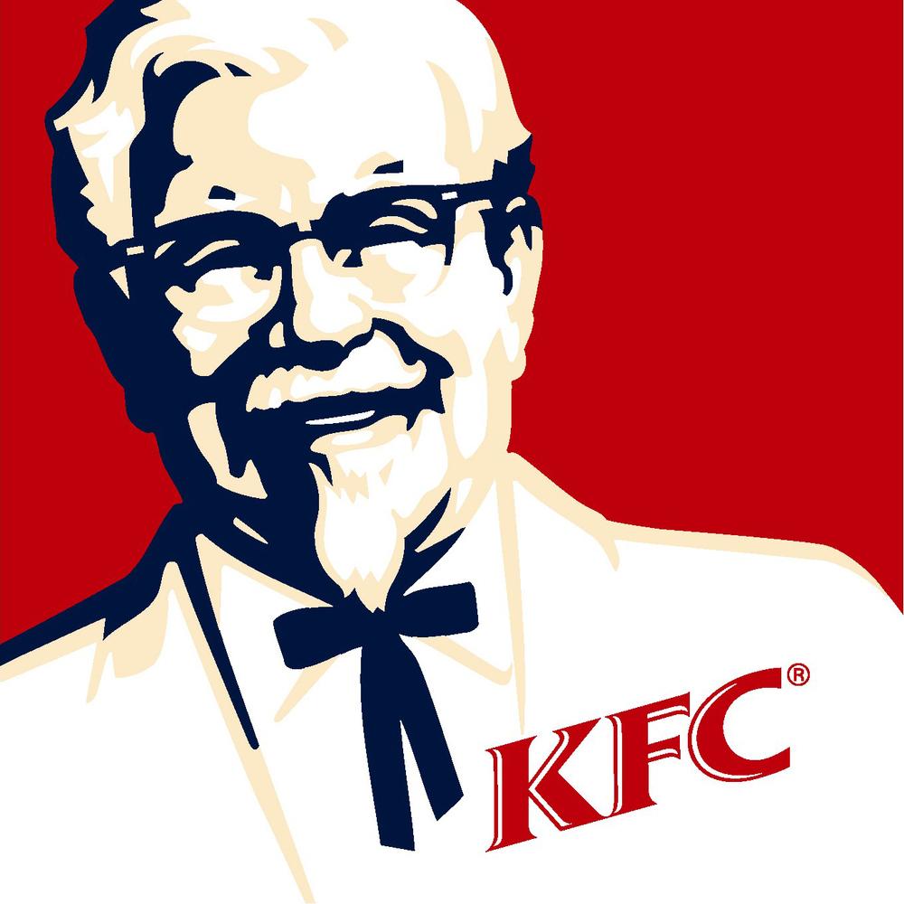 kfc moustache logo