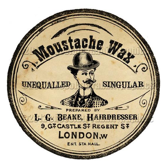 moustache wax logo