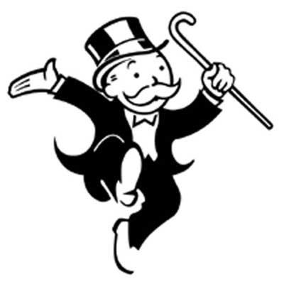mr monopoly moustache logo