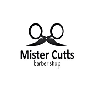 mister cutts moustache logo