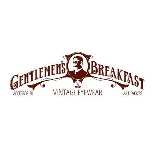 Gentlemens Breakfast moustache logo