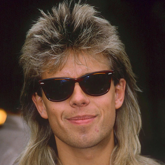 pat sharp mullet