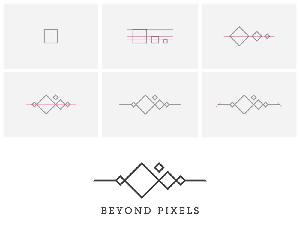 Beyond Pixels Logo Design