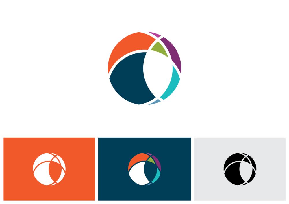 Modern Globe logo design