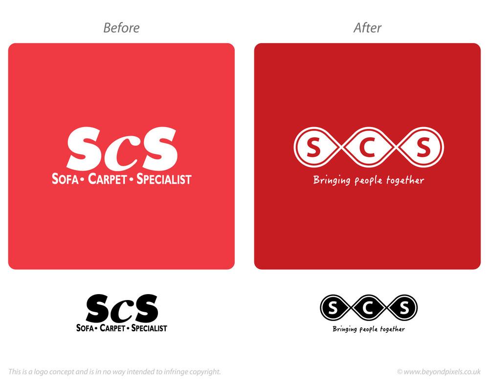 ScS logo design concept