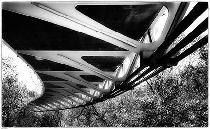 Twisted Steel by Sylvia Ford 2nd Place B&W