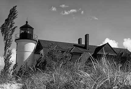 Pointe Betsie Lighthouse by John Angus