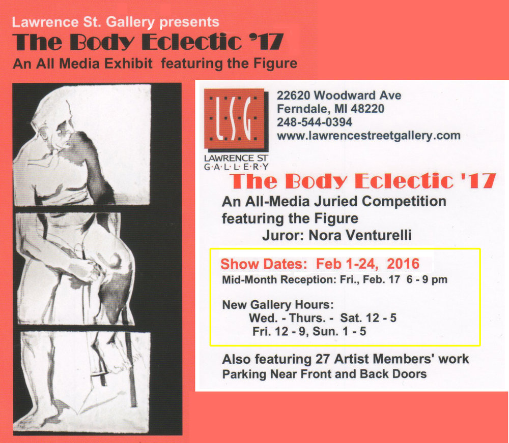 Come visit his Friday, February 17, Mid-month Reception at the gallery from 6 to 9 p.m.
