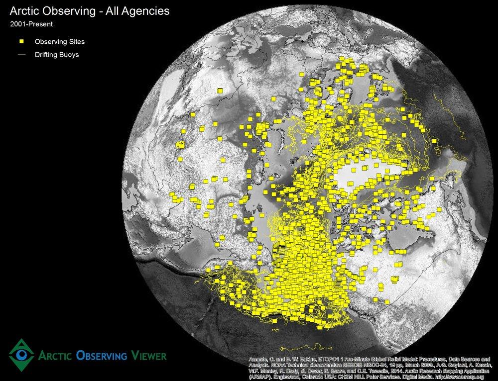 Arctic Observing - All Agencies
