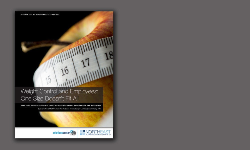 Weight Control and Employees: One Size Doesn't Fit All (10/14)