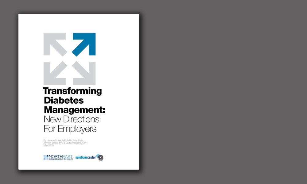 Transforming Diabetes Management: New Directions For Employers (5/15)