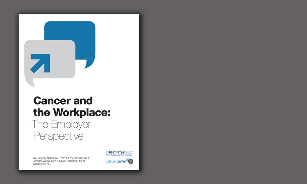 Cancer and the Workplace: The Employer Perspective (10/15)