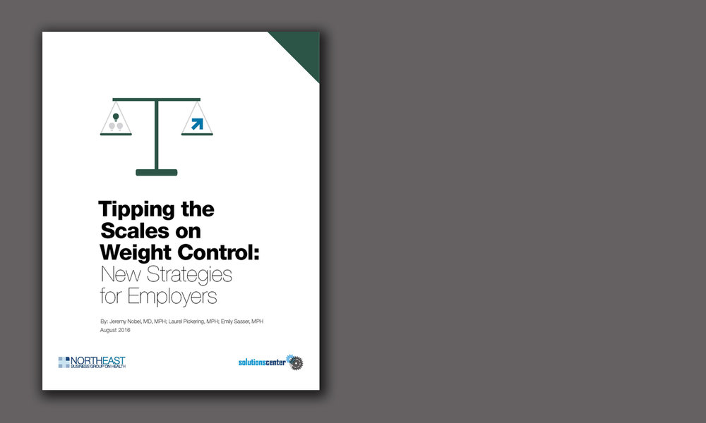 Tipping the Scales on Weight Control: New Strategies for Employers