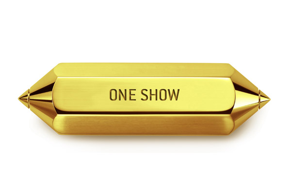 ONE SHOW GOLD PENCIL  2010 - Diesel