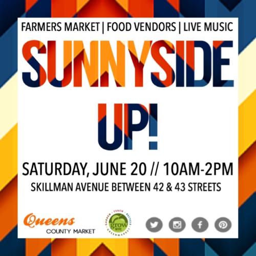 Farmers Market Sunnyside Queens Market