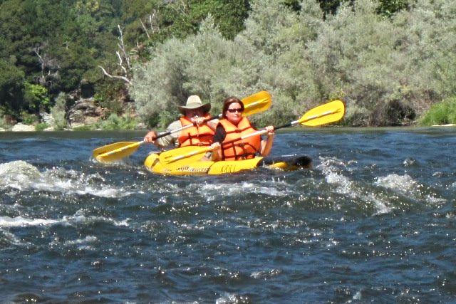 Get the rush of rafting the Klamath