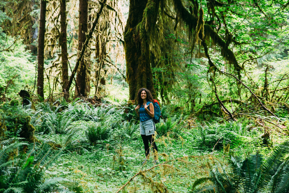 Hoh Rainforest Sonia Primerano Deuter Packs