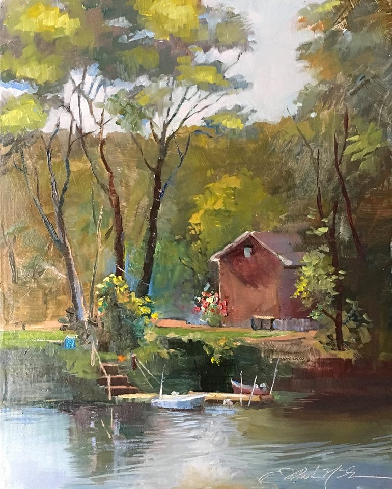 Covered Cove. 8x10. 300..jpg
