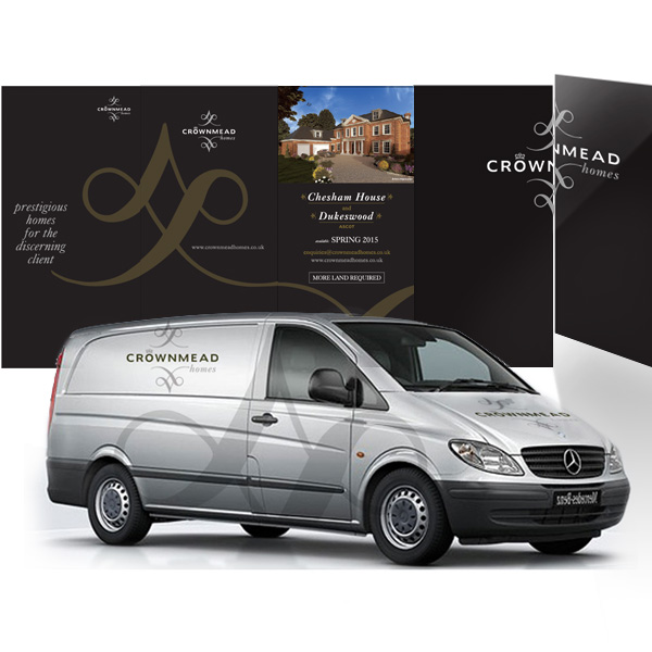 Branded Vehicle livery and Site hoarding
