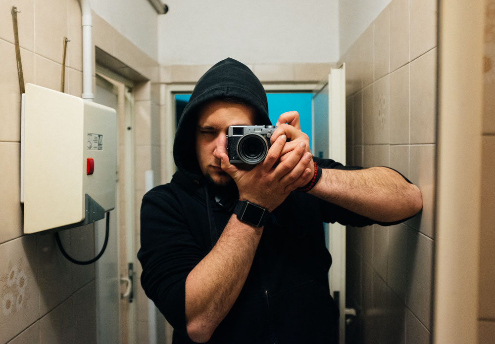 Don't blame me, we've all been at that stage where we turn every public toilet mirror in a self portrait. C'mon.