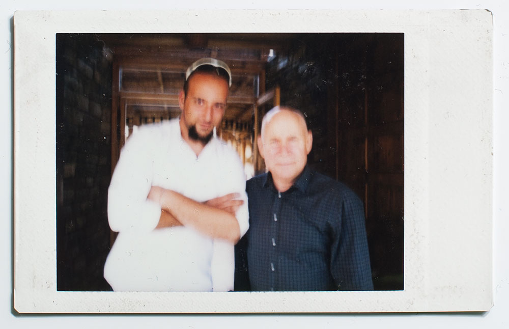 I am the proud owner of the only blurred instant film photo with Steve McCurry that was ever taken :)