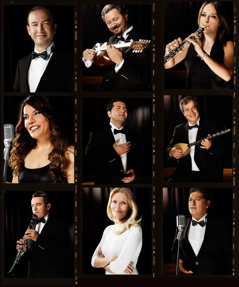 Devlet Türk dünyası dans ve müzik topluluğu.