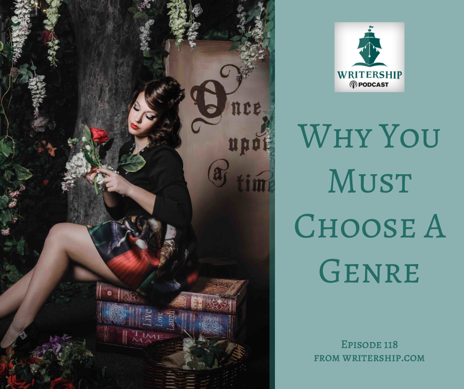 Why You Must Choose a Genre by Leslie Watts at Writership.com.