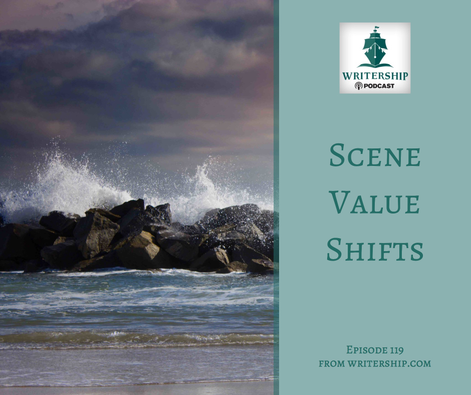 Scene Value Shifts by Leslie Watts at Writership.com.