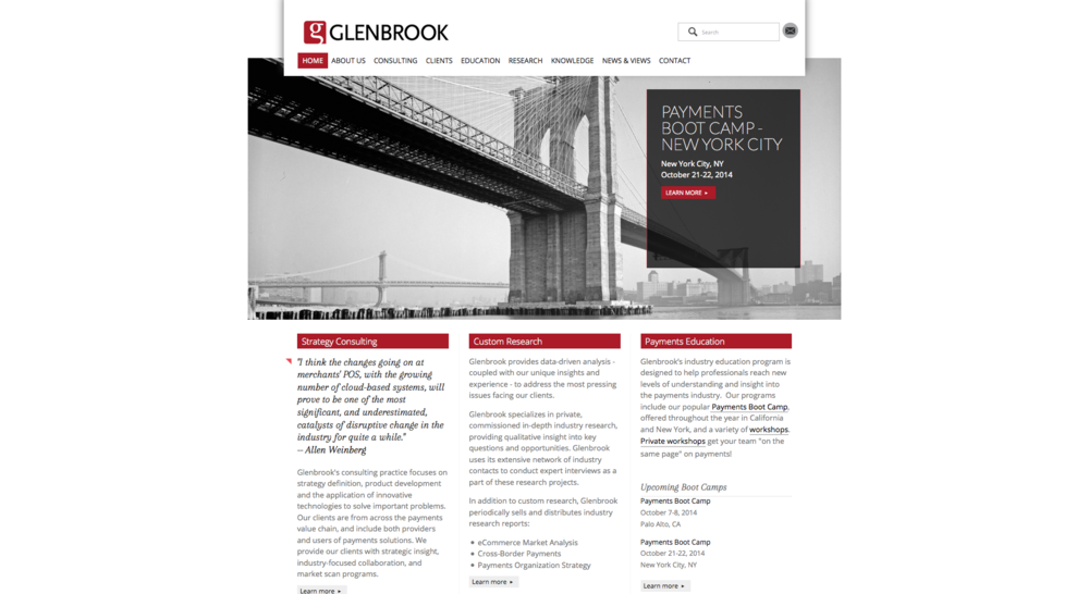 <span>Glenbrook</span><br/>design / development