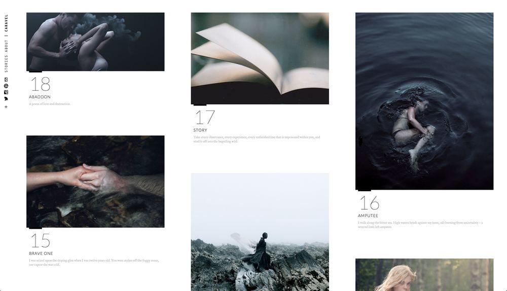 Caravel | Storytelling
