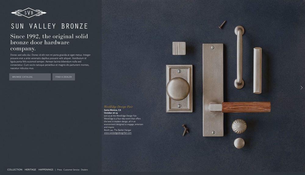 Sun Valley Bronze | Architectural Hardware